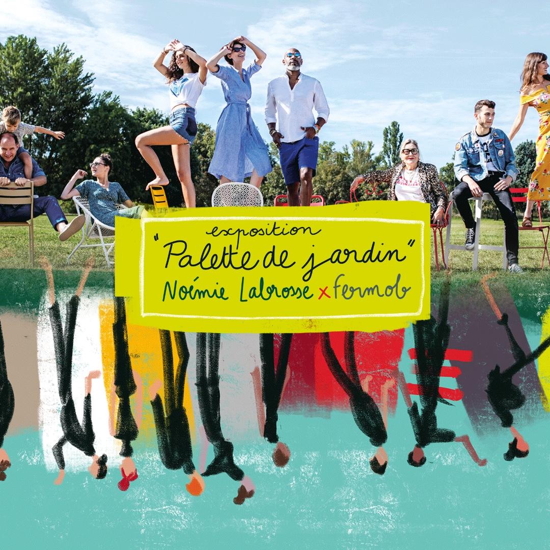 Exposition « Palette de jardin » – Noémie Labrosse x Fermob