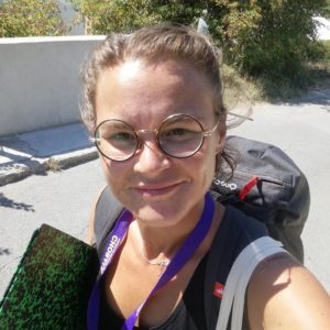 I participated in the 23rd Choralies in Vaison-La-Romaine as a volunteer draftswoman!