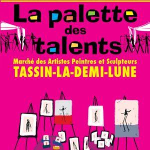 Noémie Labrosse exhibits for the 15th anniversary of Palette de Talents in Tassin La Demi-Lune (69)