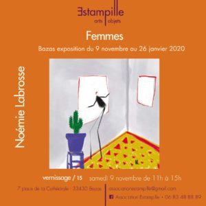 """Noémie Labrosse: """"Women"""" from November 9 to January 26, 2020"""