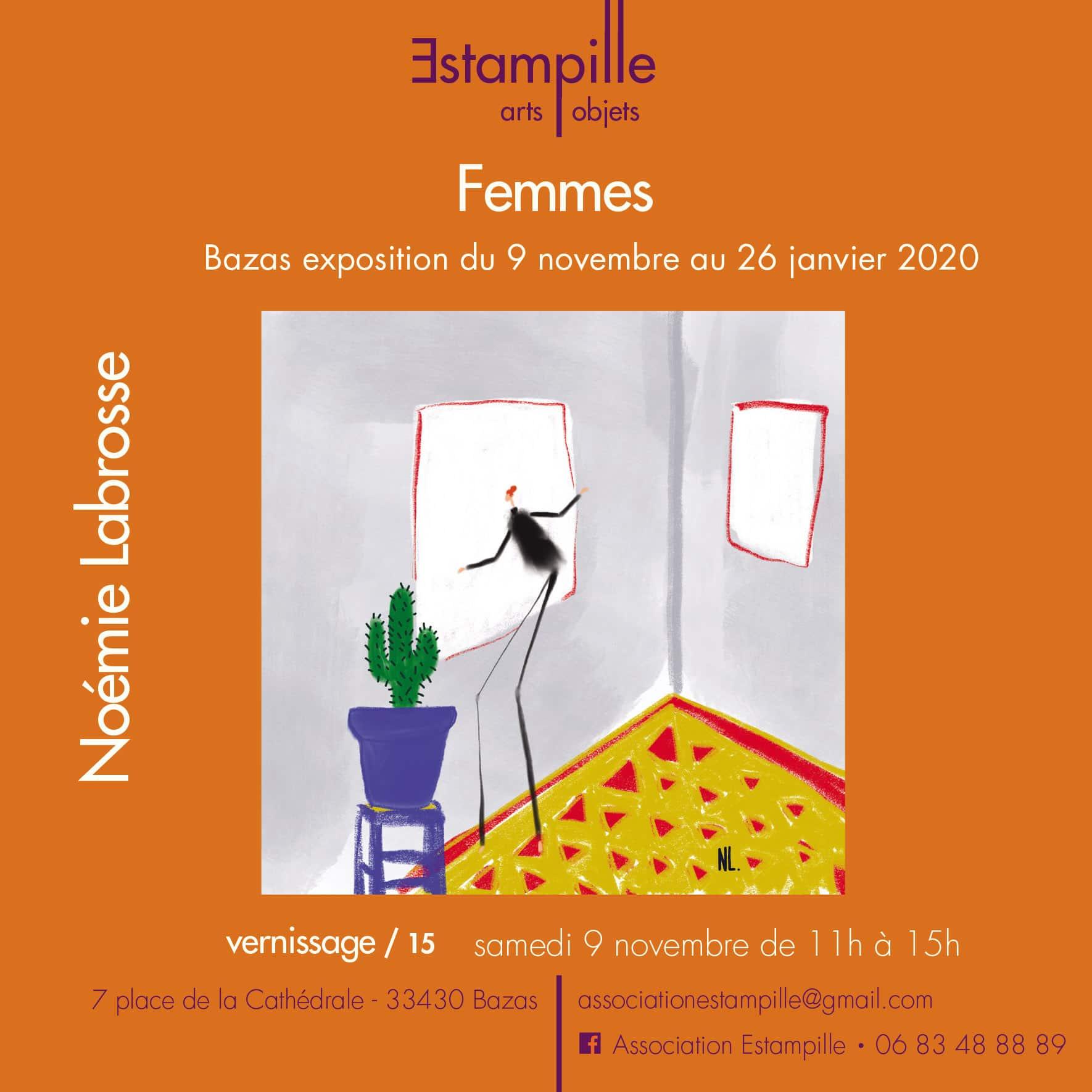 Noémie Labrosse : « Femmes » du 9 novembre au 26 janvier 2020